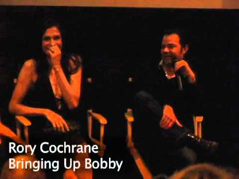 Famke Janssen and Rory Cochrane BRINGING UP BOBBY Q&A at Dallas International Film Festival 2012
