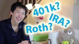 401k vs Roth 401k vs IRA vs Roth IRA | BeatTheBush