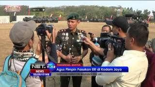 Agus Yudhoyono Menjabat Komandan Yonif Mekanis 203 Arya Kemuning -NET24