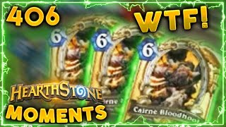 Crazy Lucky RNG got him this.. | Hearthstone Un