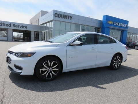 2017 Malibu Lt Summit White