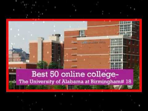 Best 50 online college in usa   The University of Alabama at Birmingham # 18