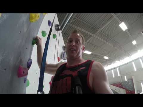 Rock Climbing - ADVENTURE ROCK - East Side Milwaukee!!! *MATTHEW CHANNEL HD*