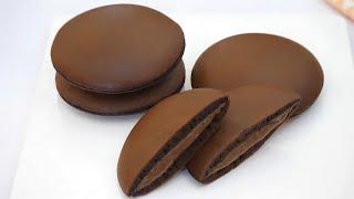 チョコレートどら焼き|Delmira Cookingさんのレシピ書き起こし