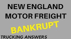 New England Motor Freight Bankruptcy