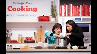 Priya Krishna and Madhur Jaffrey Cook Dal Two Ways | The New York Times Food Festival
