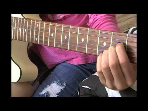 Easy Guitar Tutorial For ONE THING By ONE DIRECTION!!
