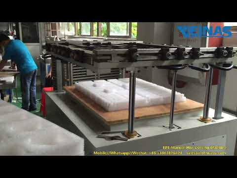 Hot Wire Cutting Machine for Veinas EPE Foam SRQJ-8060