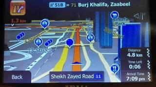 Dubai - GPS Navigation - Near Burj Khalifa