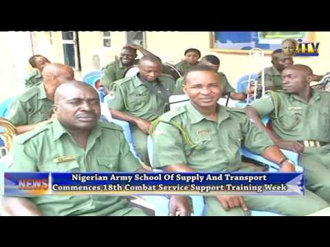 Nigeria Army School Of Supply And Transport Commences 18th Combat Service Support Training Week