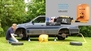 Balónový zvedák Air Jack - teaser
