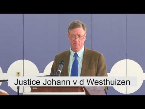 TuksAlumni Business Breakfast with Justice Johann van der We