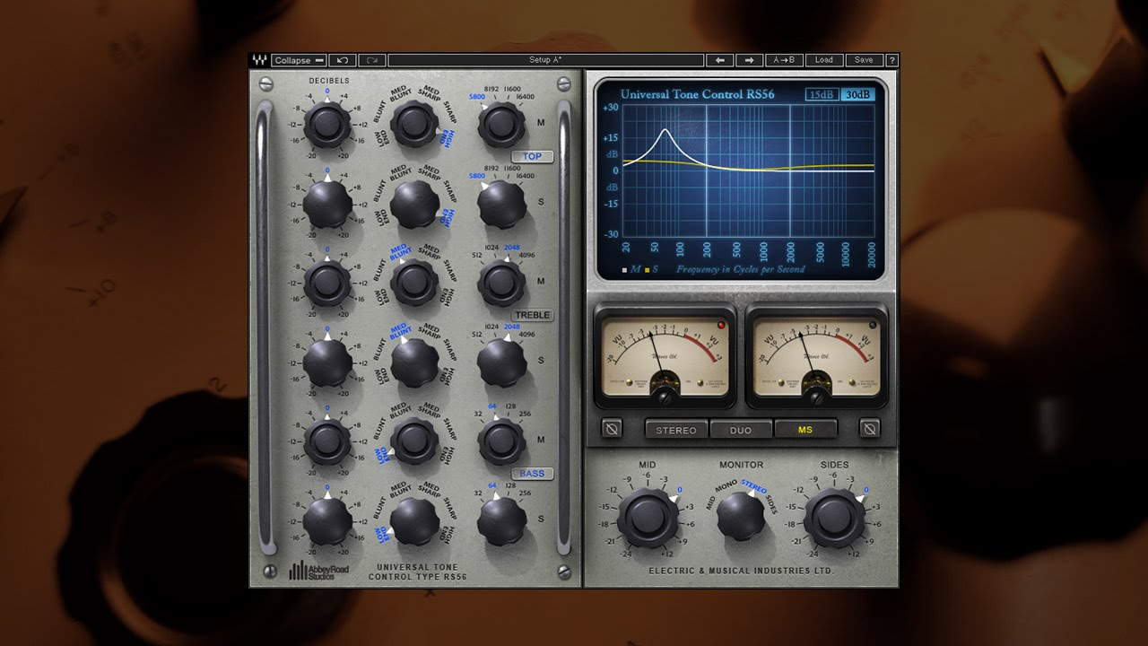 waves abbey road rs56 passive eq plugin overview youtube rh youtube com