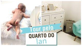 Tour pelo quarto do Baby