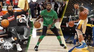 【NBA】ずっと見ていられる!NBA選手たちのウォームアップ!