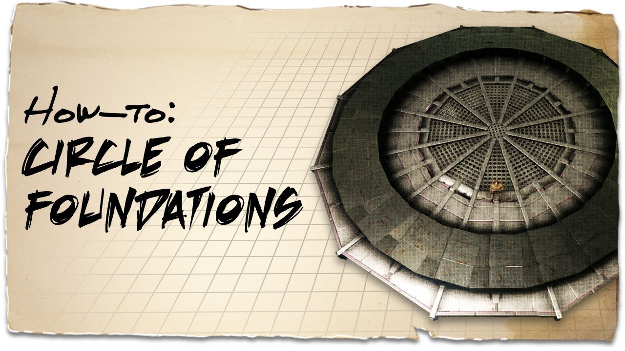 How to make a round base on a cliff platform | ARK: Aberration | Building Tips