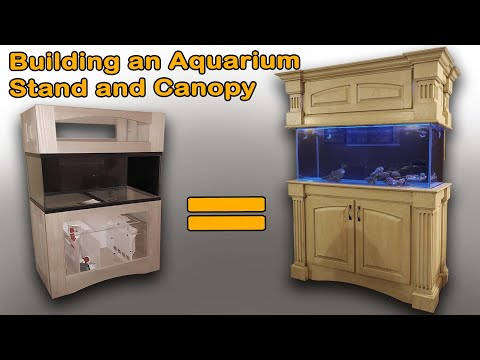 Building A 75 Gallon Aquarium Stand And Canopy : The Ultimate 75 Gallon Aquarium Build Part 1.