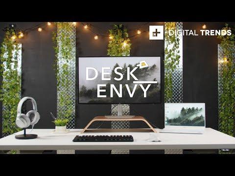 Clean Desk Setup 2019 + Logitech MX Master 2S Giveaway | Desk Envy