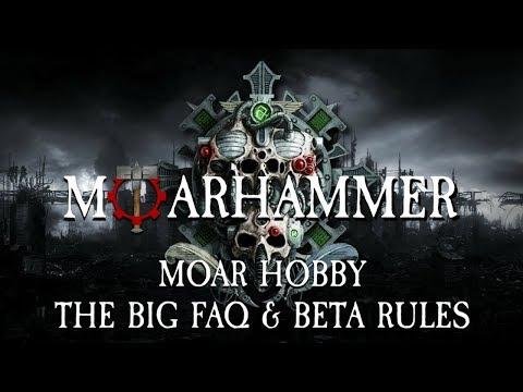 Moar hobby - The big FAQ & beta rules - Warhammer 40k 8th edition