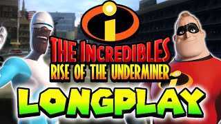 Sony PlayStation 2 CO-OP Longplay 100% | The Incredibles Rise of the Underminer [1080p 50fps] - 2016