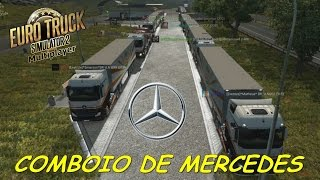 LIVE - Comboio de Segunda-Feira | Euro Truck Simulator 2 Online!