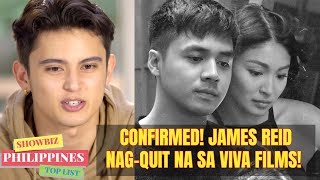 Confirmed! James Reid Already QUIT and Left VIVA after 7 years!