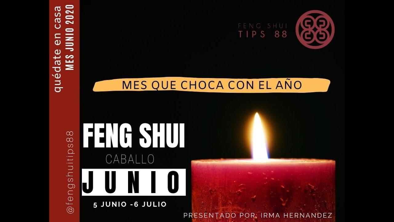 FENG SHUI JUNIO 2020 MES DEL CABALLO