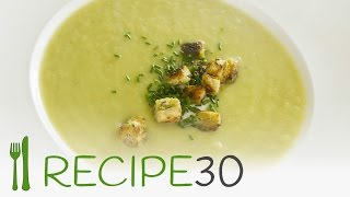 Leek And Potato Soup Recipe In 30 Seconds.