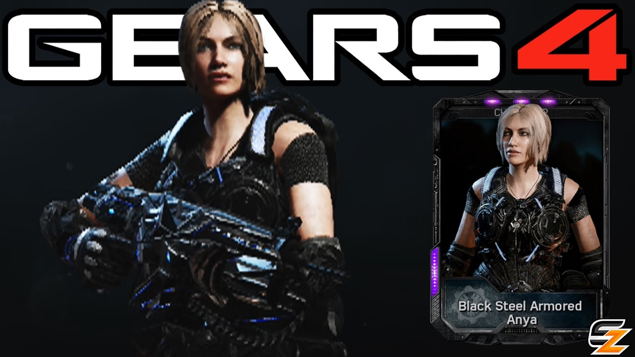 Gears Of War 4 Quot Black Steel Armored Anya Quot Multiplayer