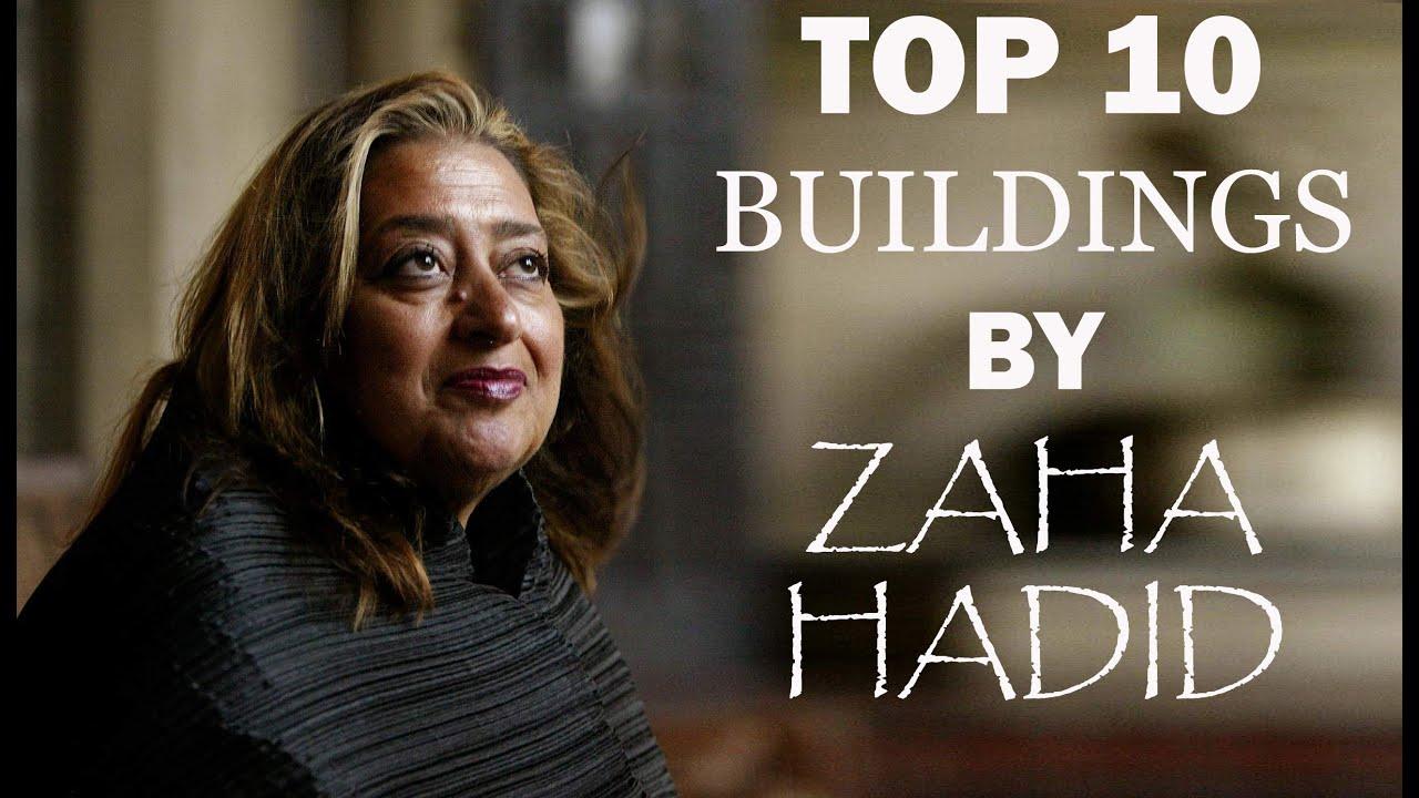 Zaha hadid buildings famous
