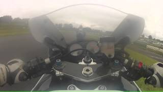 GoPro HD: ZX6R Crash Onboard No Limits Mallory Park Open Pit Lane Track Day July 2012