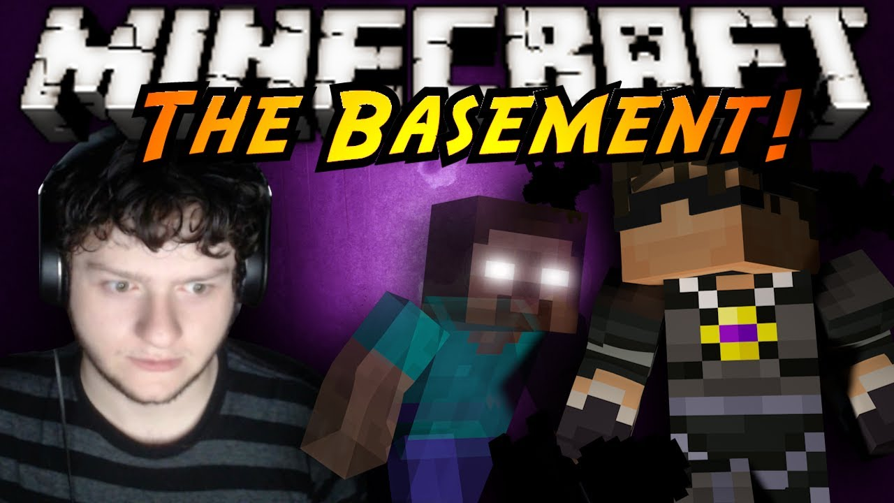 minecraft horror game the basement youtube