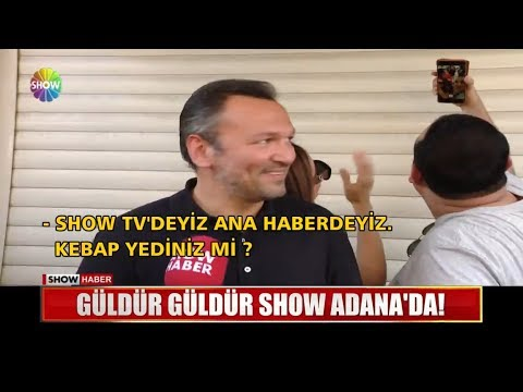 Güldür Güldür Show Adana'da!