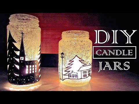 DIY Christmas Decorations & Gifts | Christmas In A Jar