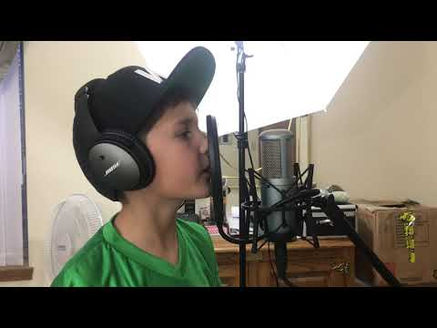 8 YEAR OLD RAPS NF! - Outcast