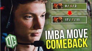 IMBA COMEBACK - Resolution OG Epic Comeback Dragon Knight | Dota 2