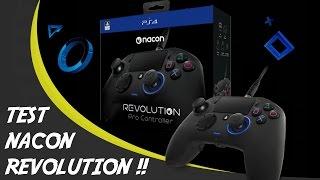/!\ UNBOXING + TEST : Nacon Revolution /!\ ⚫ Un bijoux ! ⚫ (HD) (FR)