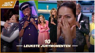 SPRAAKMAKENDE momenten met de JURY! // DE 10 LEUKSTE JURYMOMENTEN // DDD //