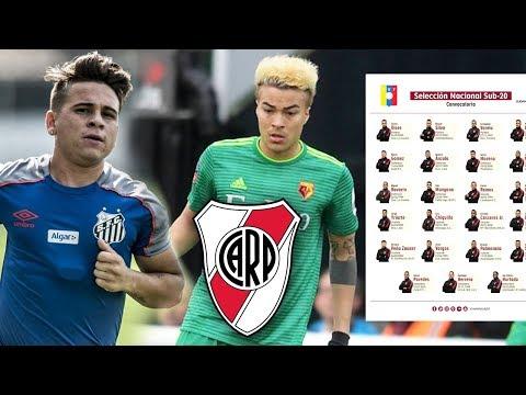 ¿Peñaranda a River Plate?   Soteldo llegó a Santos y Sampaoli habló   Convocatoria Vinotinto Sub20