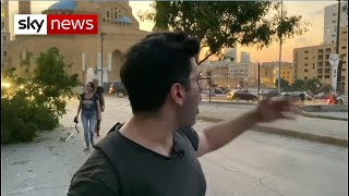 Sky News bureau destroyed in Beirut blast