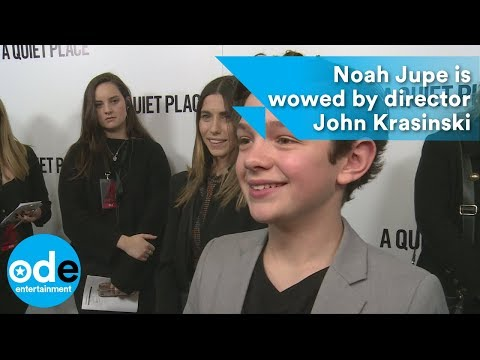A Quiet Place: Noah Jupe is wowed by director John Krasinski