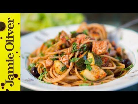 Healthy Pasta With Tuna & Veg   Bart's Fish Tales