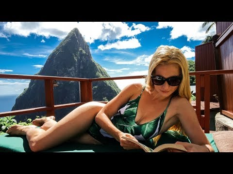 HOW TO TRAVEL LIKE YOU'RE HONEYMOONING - Ladera Resort, St. Lucia