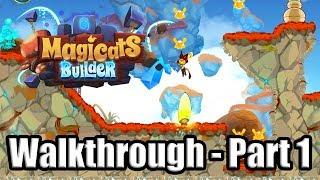 MAGICATS BUILDER [ENGLISH/PC] Gameplay - Adventure Mode Walkthrough Part 1 | No Commentary