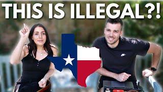 Weird Laws In Texas