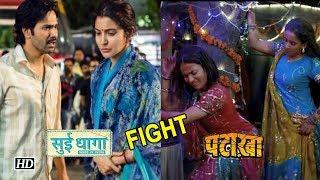 Varun-Anushka to FIGHT with Sanya-Radhika | Sui Dhaaga v/s Pataakha