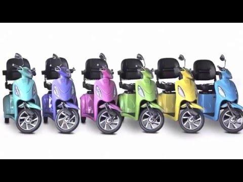 EW 72 Electric 4 Wheel Bike Mobility Scooter