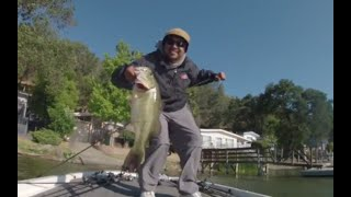 Bass fishing Clearlake California