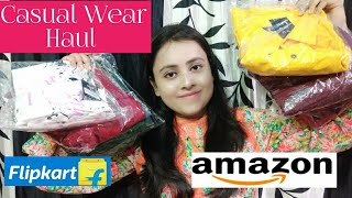Affordable Casual Wear Haul/UPTOWNIE Haul |FLIPKART and AMAZON Bestseller| Aakankshakumar