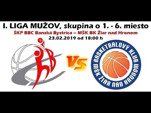 ŠKP BBC Banská Bystrica - MŠK BK Žiar nad Hronom